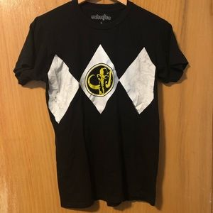Black Power Ranger Tee